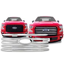 Chrome Grille Overlay FITS 2015 '15 Ford F150 F-150 F 150 XLT Model ONLY!