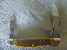 ZWILLING J.A. HENCKELS Four Blade Stockman Knife          IVORY COLORED Bone