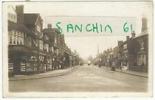HIGH STREET SOLIHULL WITH SHOPS NR BIRMINGHAM PU SOLIHULL 1910 RP