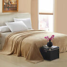 New Warm Super Soft Large Fleece Sofa Bed Cover Blanket Throw