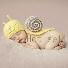 HOT born Baby Girl Boy Crochet Knit Costume Clothes Photo Photography Prop Hat