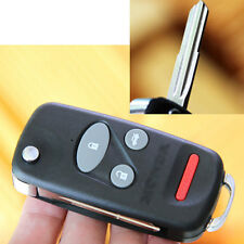 Folding Flip Remote Fob Key Shell Keyless for Honda S2000 Insight Odyssey CRV 4B