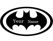 Wall Stickers Batman logo baby name Removable Vinyl Decal Kids Art Mural Decor