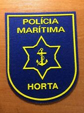 PATCH POLICE PORTUGAL MARITIME - HORTA - ORIGINAL!