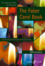 The SONGS FABER Carol Christmas Mixed Voices Easy Learn to Play FABER Music BOOK