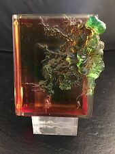 Tittot Art Glass Book Paperweight Fragrances of the 4 Seasons COA Signed Number