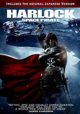 Harlock: Space Pirate New DVD