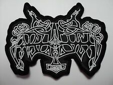 ENSLAVED  SHAPED LOGO     EMBROIDERED PATCH