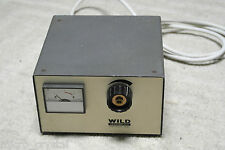 Leica Wild Heerbrugg AC 0-8v 6,3Amp power supply fuente alimentación variable