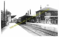 Driffield Railway Station Phot. Nafferton to Garton, Southburn, Hutton Cranswick