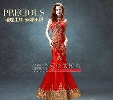 Chinese wedding dress QiPao Kua Kwa cheongsam 31C Many Sizes New Fashion