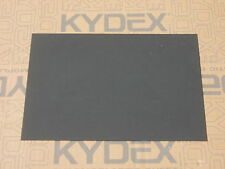 KYDEX T SHEET 420 X 297 X 1MM A3 SIZE (P-1 HAIRCELL BLACK 52000)