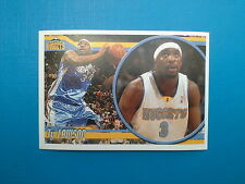 2010-11 Panini NBA Sticker Collection n.222 Ty Lawson Denver Nuggets