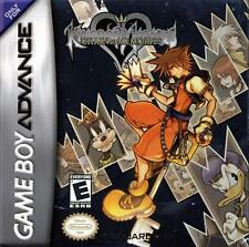 Kingdom Hearts Chain Of Memories GBA Great Condition Fast Shipping