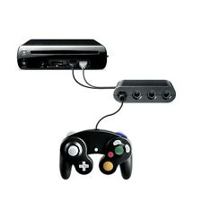 OFFICIAL  Gamecube Controller Adapter Converter for wii u Super Smash Bros