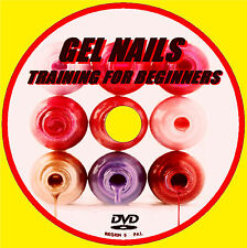 LEARN TO CREATE PERFECT GEL ACRYLIC NAILS EDUCATIONAL TUITION DEMO DVD  NEW
