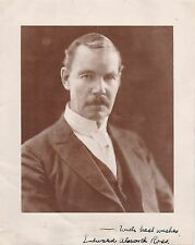 PHOTO INSCRIBED and SIGNED by sociologist and eugenicist EDWARD ALSWORTH ROSS