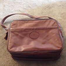 Molax London Vintage Looking Genuine Leather Briefcase Messenger Bag Mens