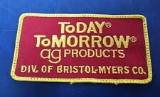 TODAY TOMORROW AG PRODUCTS DIV. OF BRISTOL-MYERS CO. (RED) UNKNOWN PATCH