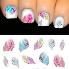 Vintage DIY Water Transfer Beauty Feature Nail Art Rainbow Dreams Decal Stickers