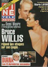 CINE REVUE (belge) 1998 N°4 diana demi moore bruce willis marie laforet