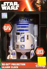 Zeon Star Wars R2D2 Projection Alarm Clock