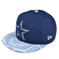 Dallas Cowboys New Era KALEIDOVIZE Blue Snapback 9Fifty NFL Hat