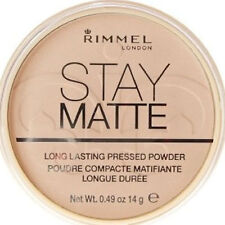 Rimmel Stay Matte Pressed Face Powder ~ shade 01 Transparent