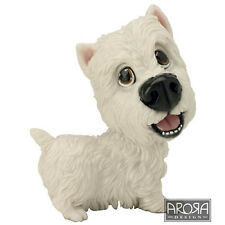 Little Paws Harry the Westie Dog Figurine in gift box  23453