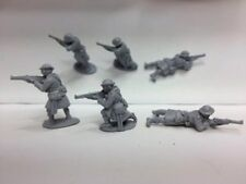 EWM Ww1brit31 1/76 Diecast WWI 3 British Highland Infantrymen Firing Rifles