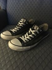 Trashed Converse All Star Low Top Chucks Size 11