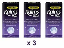 21 x 3 Tablets Kalms Traditional Herbal Sleeping Aid One a Night 63