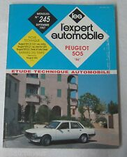 "Revue technique L'EXPERT AUTOMOBILE n° 245 1987 Peugeot 505 ""86"""