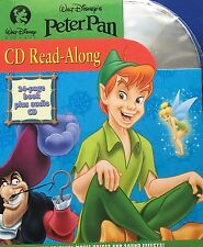 Disney Peter Pan 24 Page Book & CD With Original Movie Voices & Sound Effects
