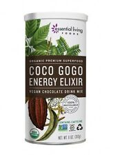 * SALE * Essential Living Organic Coco Gogo Energy Chocolate Smoothie Mix, 11 oz