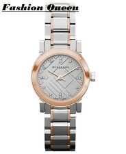 Burberry Womens Watch Swiss Two Tone Bracelet BU9214