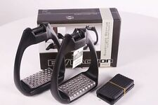 Royal Rider Evo 80 Action Lightweight Stirrups BLACK + Worldwide Shipping