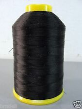 RICE HSB SUPERSEW Z-33 NYLON BLACK UPHOLSTERY LEATHER TENT THREAD 4 OZ SPOOL