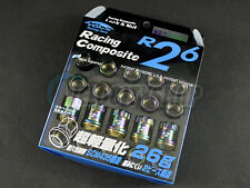 Project Kics R26 Neo Chro Lug Nuts (Locks) 20 pcs 12x1.25 For G37 WRX Impreza