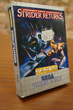 Sega Game Gear juego: Strider return-Embalaje original-Boxed-jeux/Game