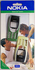 Original New Nokia 8210 SKR-13 Lunar Yellow / Mint Green Xpress-on Front Cover