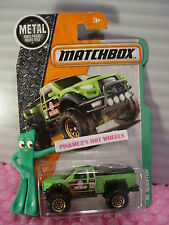 QUESTOR #123☆Satin Green; Off Road;182☆2016 Matchbox Explorers☆case h/j