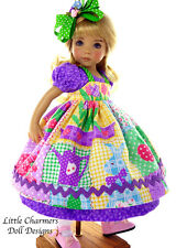 Outfit for Effner, Effner Little darling, Easter - *Little Charmers Doll Designs