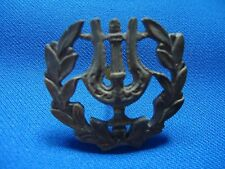 PORTUGAL PORTUGUESE VINTAGE CAPELA MILITARY ORCHESTRA CHOR BADGE 40mm