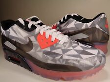 Nike Air Max 90 Ice Dark Grey White Black Infrared SZ 12.5 (631748-006)