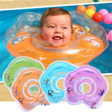 Infant Kids Baby Swimming Neck Float Ring Safety Inflatable Circle Swim Ring