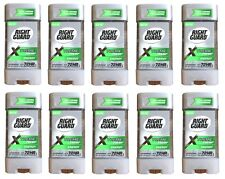 Lot of 10 Right Guard Xtreme Fresh Energy Gel Antiperspirant, Deodorant