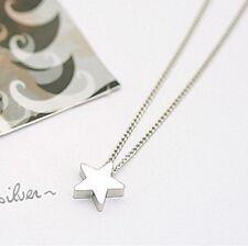 Collier pendentif étoile argentée IDÉE CADEAU