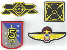 Babylon 5 Security  Costume/Uniform Patch Set of 4- FREE S&H (B5PA-Set-4)