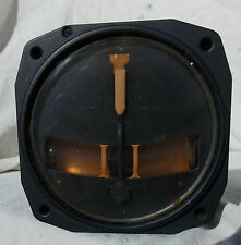 Early WW2 P-40, P-51, P-47  Fighter Type A-11 Turn & Bank Instrument,1942 ,NICE